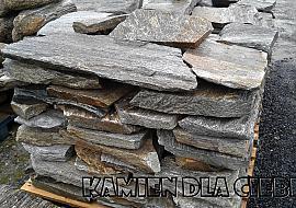 Gnejs szaro-brązowy płytowy Kamień łamany