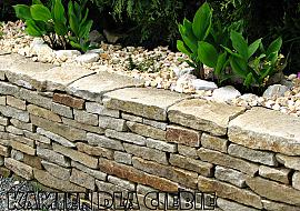 Granit żółty murak Kamień łamany