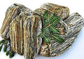 Otoczak kamienne drewno Otoczaki