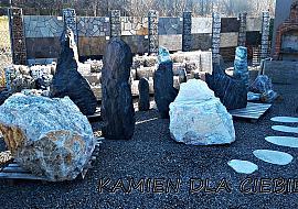 Szpilki i monolity kamienne Kamień łamany